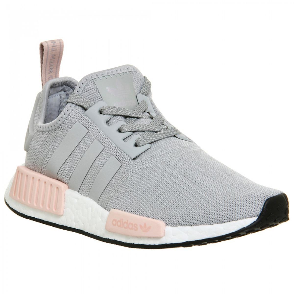 tênis adidas nmd r1 cinza e rosa original promoção. Carregando zoom. 98584e0e50b