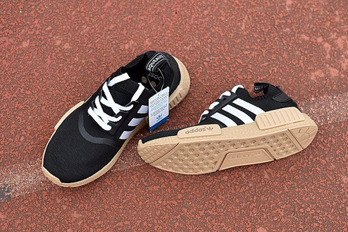 tênis adidas nmd r1 pk runner boost yeezy 750 corredor preto