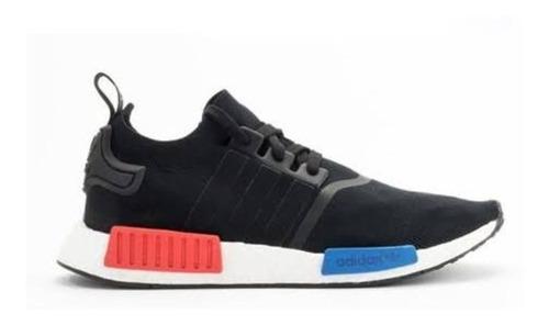 tênis adidas nmd r1 preto/vermelho