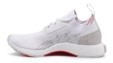 Tênis adidas Nmd Racer Primeknit White Feminino.