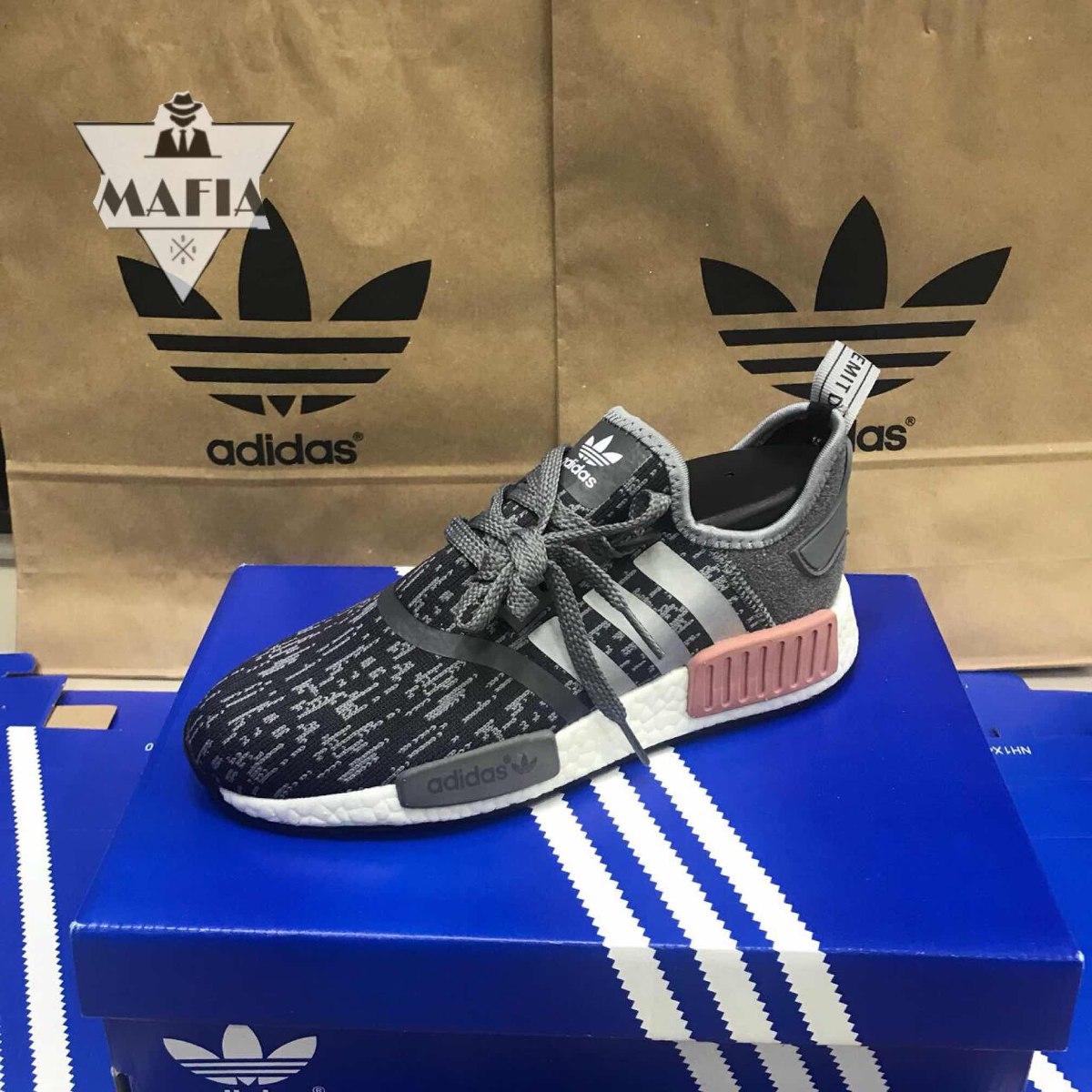 sports shoes 8b554 09ff5 Tênis adidas Nmd Runner R1 Preto Feminino +1 Brinde