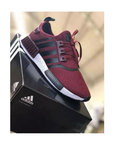 tênis adidas nmd runner r1 unissex ( grátis par de meias)