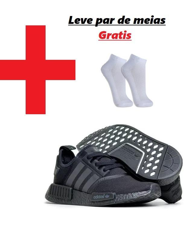 Tênis adidas Nmd Runner R1 Unissex ( Grátis Par De Meias) - R  200 ... 34ffb4d4eda55