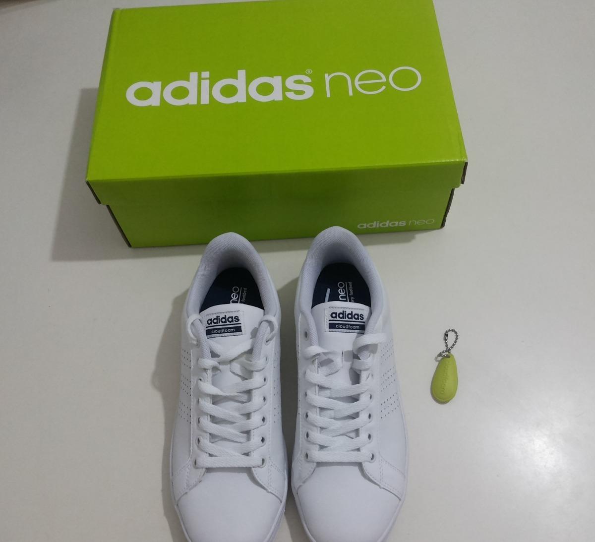 Tênis adidas Novo Neo Cf Advantage Clean Num 39 Único Couro - R  239 ... ca1963371d2c8