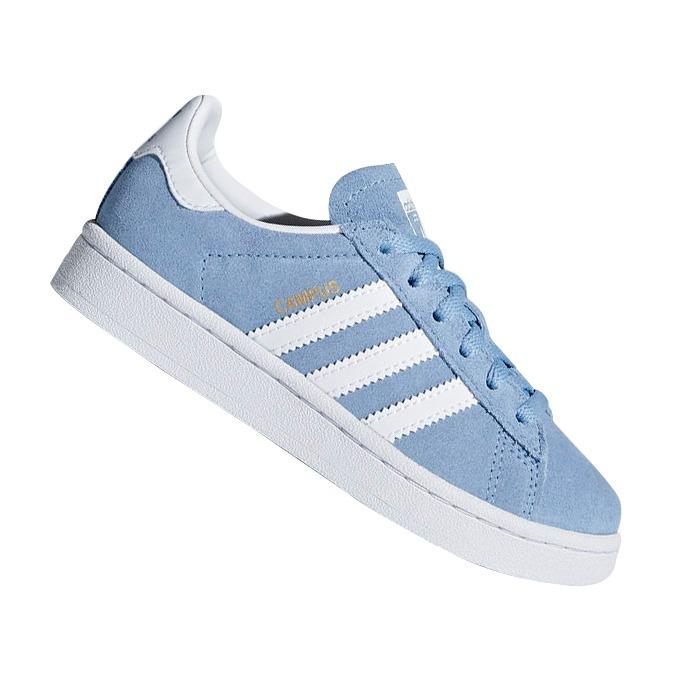 56f3ecf1a6d52 Tênis adidas Originals Infantil Campus Azul Db1351 Original - R  249 ...