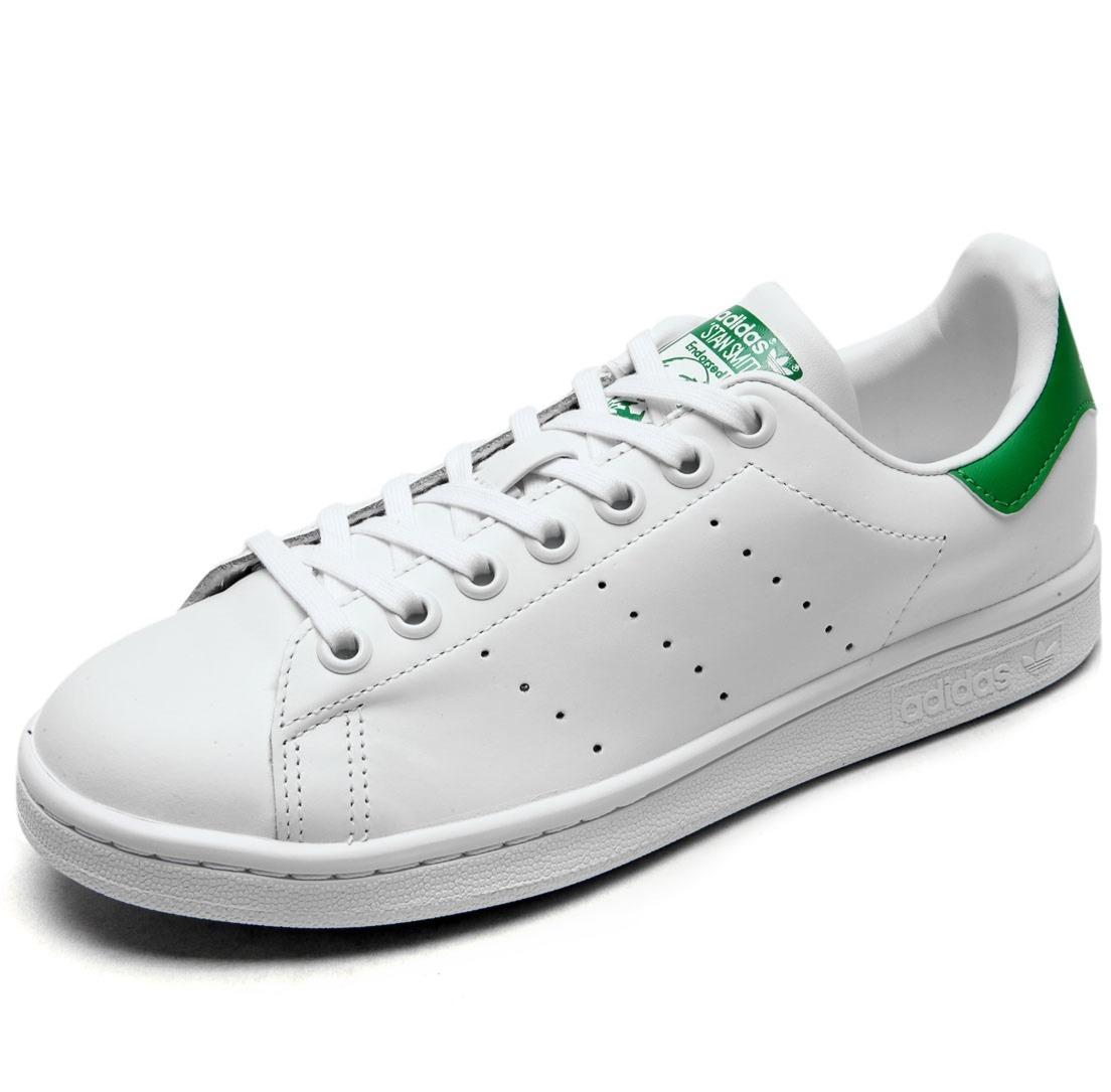 00fd22bb62 tênis adidas originals stan smith branco masculino feminino. Carregando zoom .
