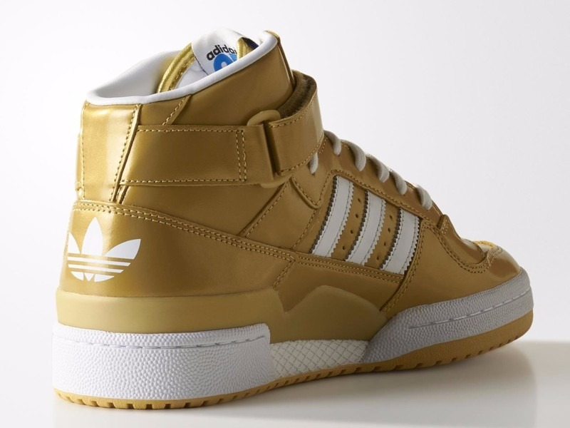 Tênis adidas Originals Star Forum Nigo Gold 525c69e6474f8