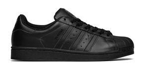 d564ecff93 Tênis Adidas Originals Superstar Foundation Branco/preto - Tênis com ...