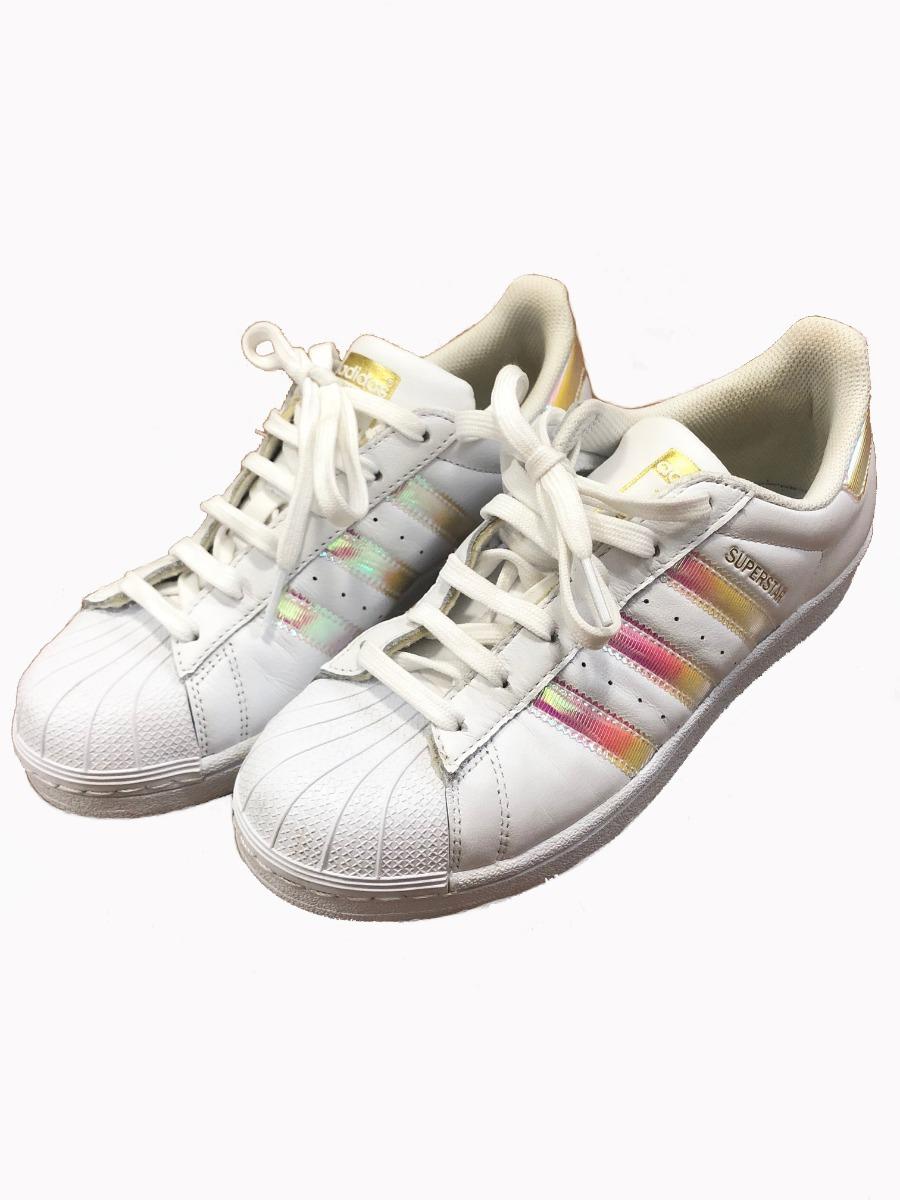 60bbc258d2 ... tênis adidas originals superstar holográfico feminino. Carregando zoom.  newest 9038b 8bfa8 ...