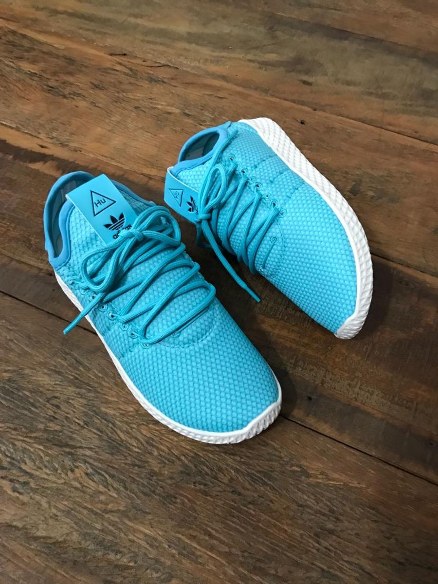 tênis adidas pharrel williams se ajusta ao pé como uma meia. Carregando zoom . 04a52c67bfa5f