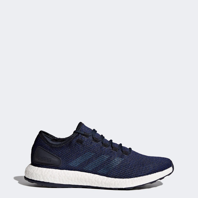 Tênis adidas Pure Boost Running Azul Corrida - R  270 6406895728d6f