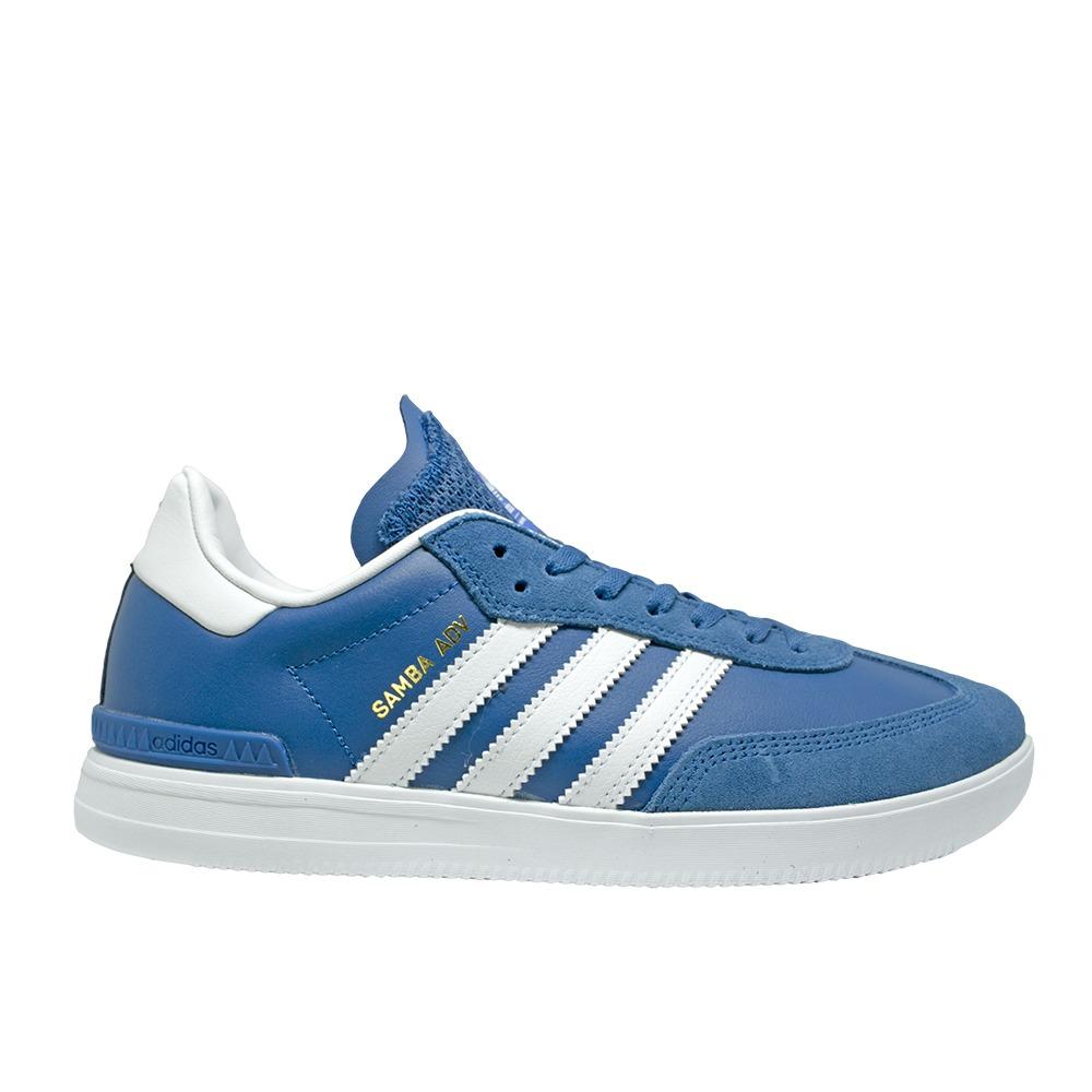 e107769ba7 tênis adidas samba adv - core blue  ftwr white bluebird. Carregando zoom.