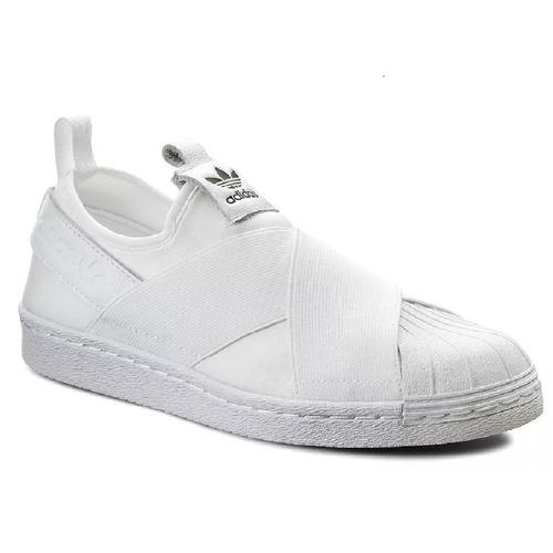 tênis adidas slip on branco original