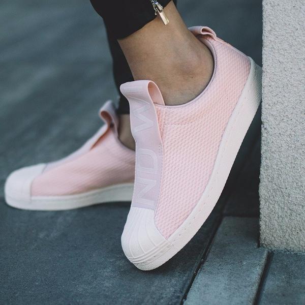 tenis adidas rosa lançamento