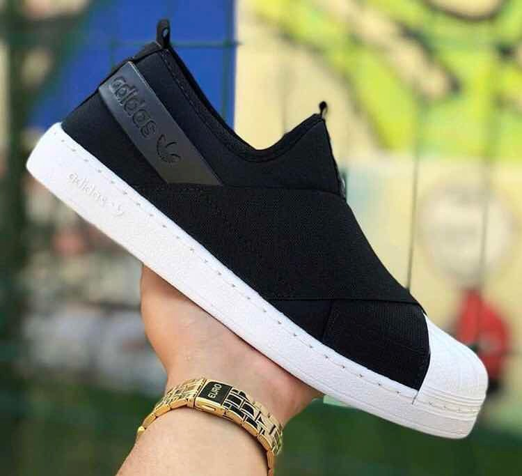 Tênis adidas Slip On Feminino Original - Envio Imediato - R  203 7f944a6268e