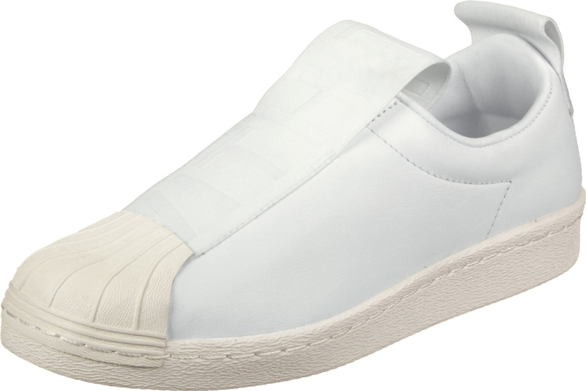 Tênis adidas Slip On Superstar Bw Branco 34-43 30%off - R  229 3b7a51b482072