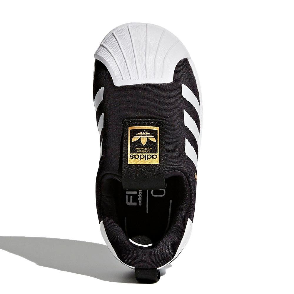 2d318bdf7b8 tênis adidas slip-on superstar originals 360 preto s82711. Carregando zoom.