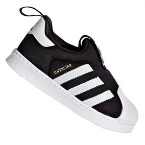7278221a595 Tênis adidas Slip-on Superstar Originals 360 Preto S82711