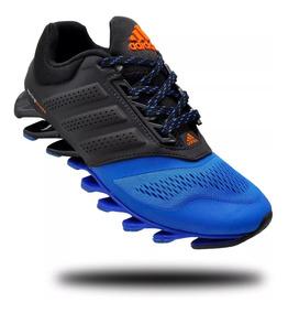 meilleur site web 266f1 c175a Adidas Springblade Driver Power 3 - Tênis Esportivo Azul com ...
