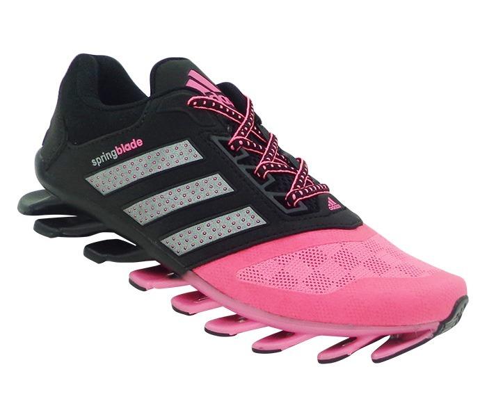 adidas spring blade rosa e preto