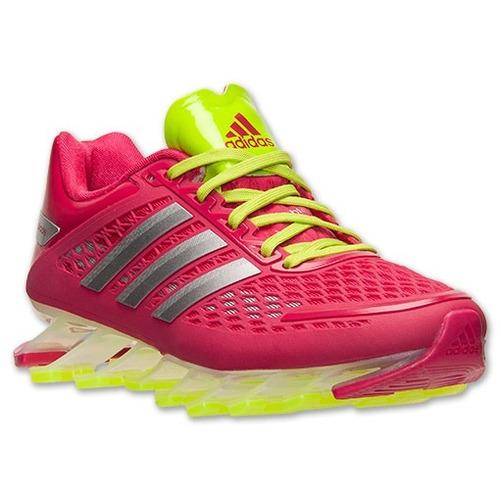 tênis adidas springblade drive rosa/verde- feminino