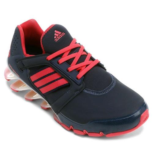 tênis adidas springblade e-force feminino - azul e pink