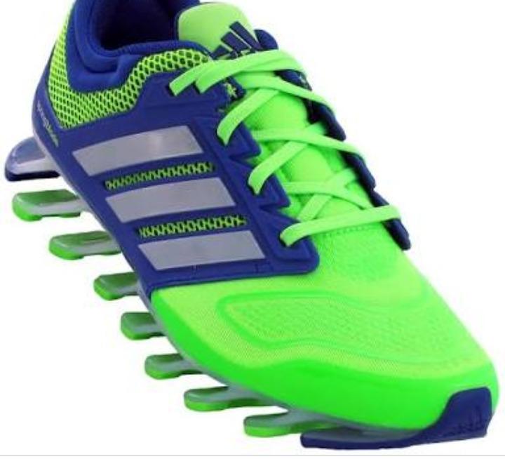 t nis adidas springblade verde com azul n mero 42 r 300 00 em rh produto mercadolivre com br tenis adidas springblade azul e verde