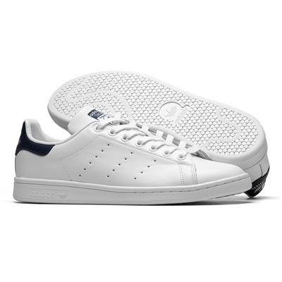 44485b40f Tênis adidas Stan Smith Branco E Azul - R  265