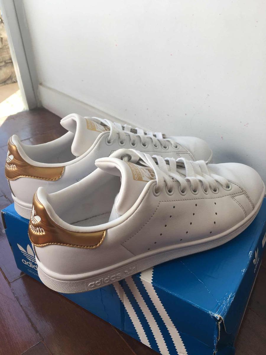 tênis adidas stan smith detalhe dourado - tamanho 37. Carregando zoom. be813d94b0e75
