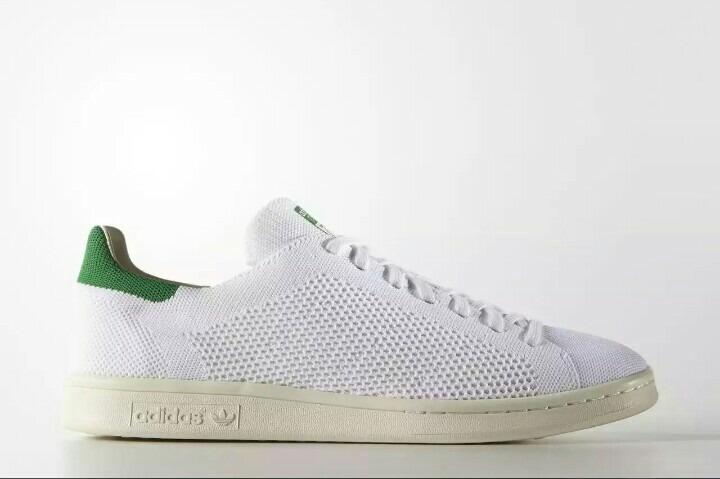 e327774c4fd0d Tênis adidas Stan Smith Primeknit (s75146) Branco verde - R  398
