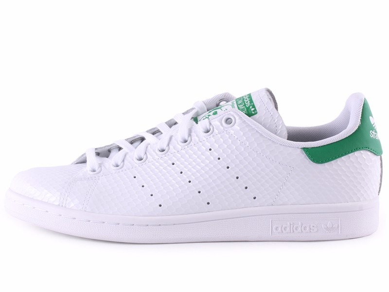 tenis adidas stan smith branco com verde