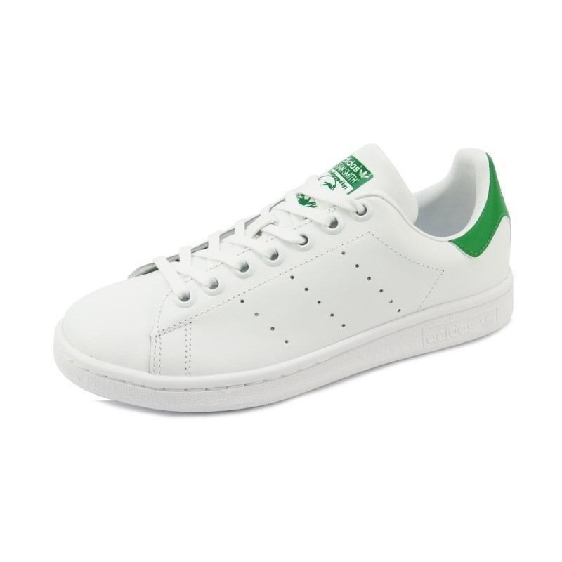 c184be4f01 tênis adidas stan smith white green. Carregando zoom.