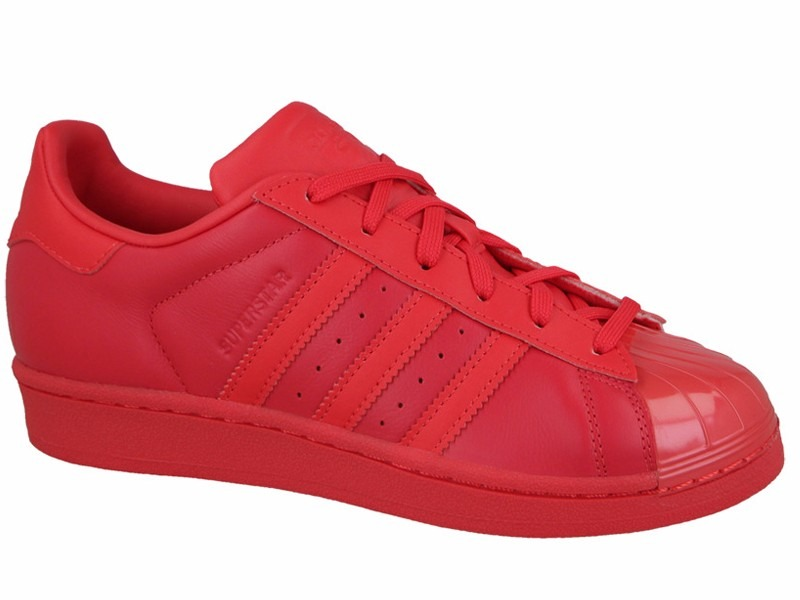 64e1cce11f0 tênis adidas star superstar glossy all red toe w low s76724. Carregando  zoom.