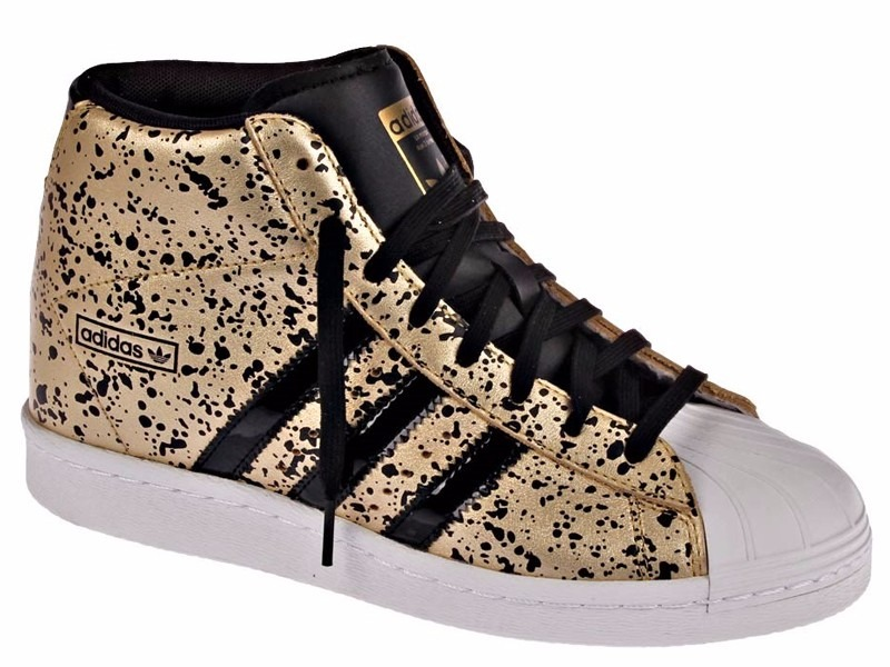 47cfe8a2ce8 Tênis adidas Star Superstar Up Sneaker Gold