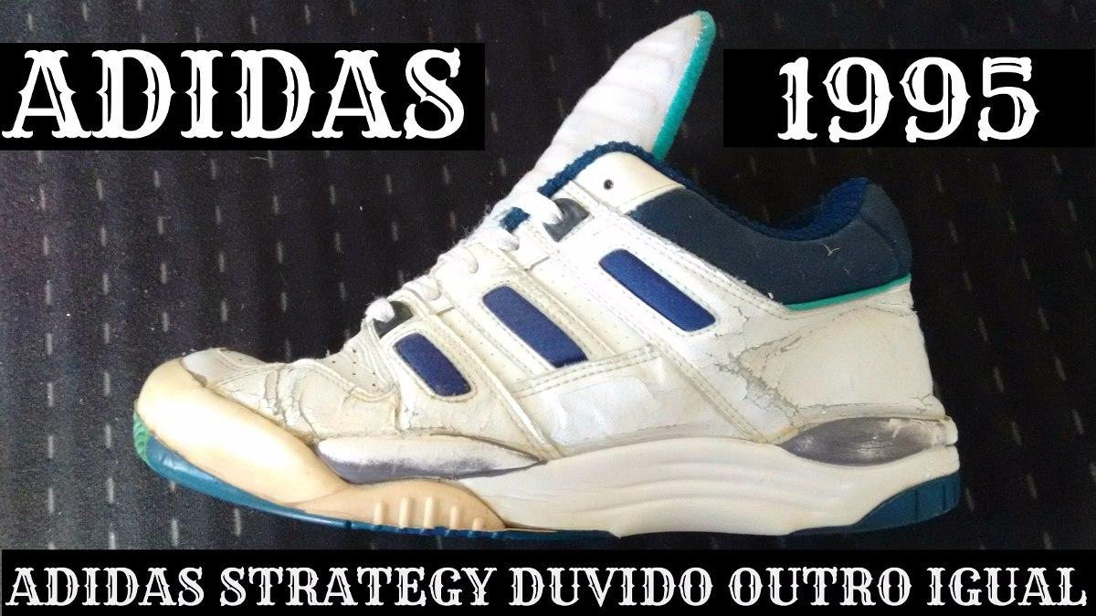 5f236a21e30 tênis adidas strategy de 1995 vintage raro ( mosca branca ). Carregando  zoom.