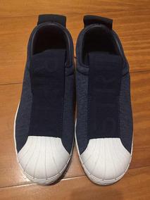 meet e034d cd7cc Tênis adidas Stripes Azul Marinho Tamanho 37