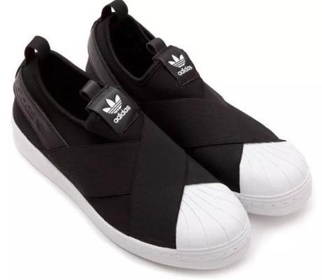 3181e0d10ce Tênis adidas Super Star Slip On Unissex Frete Gratis - R  230