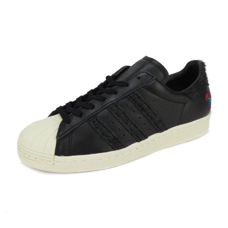 size 40 82a86 f9162 Tênis adidas Superstar 80s Cny Black/white