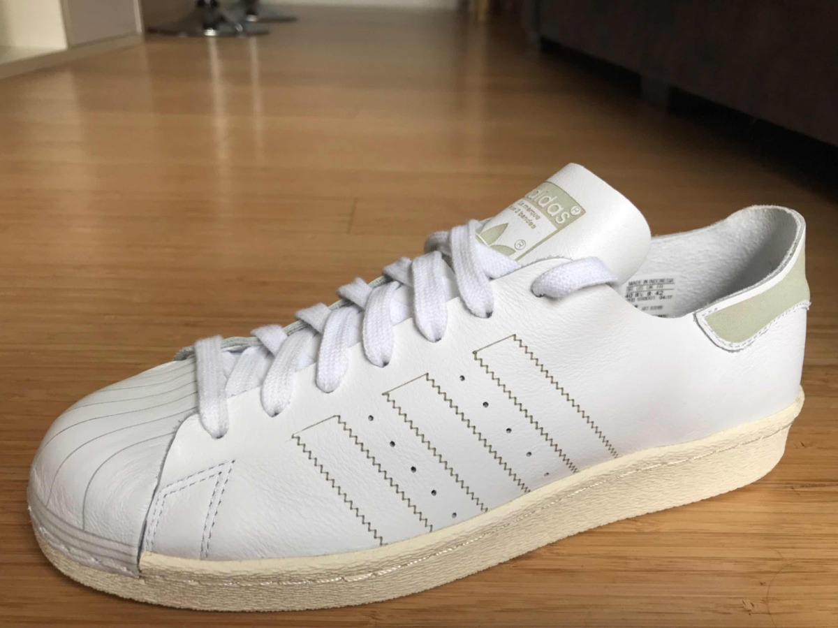 huge discount e55c3 22869 Tênis adidas Superstar 80s Decon Originals Couro Natural