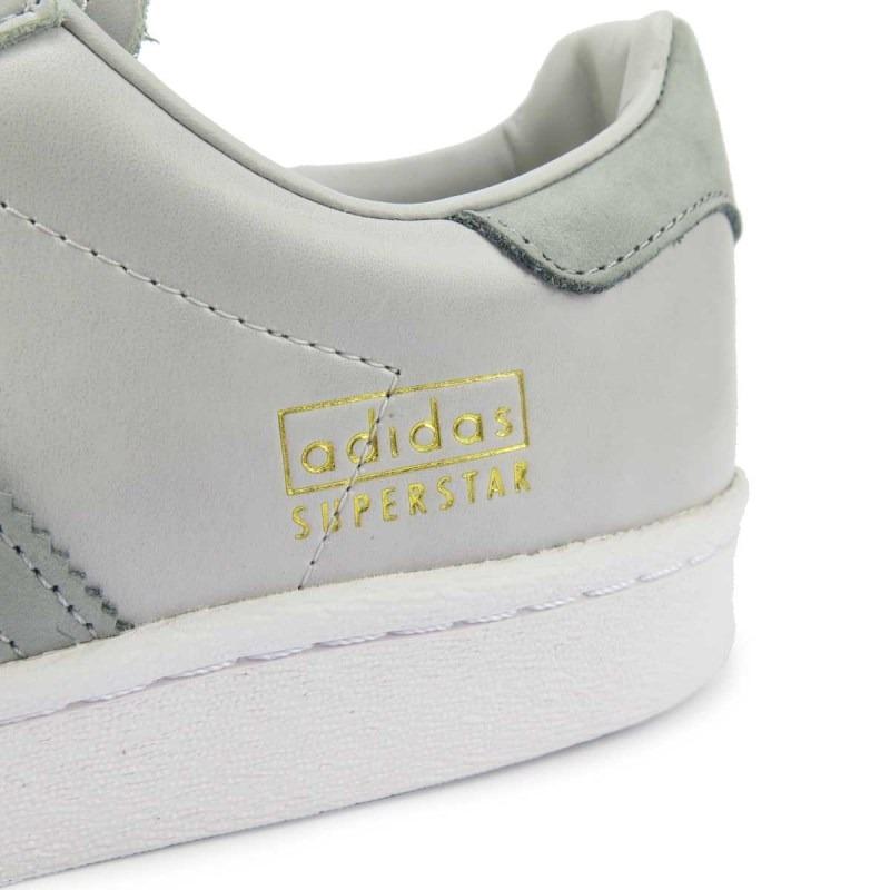 a93b33ef3b5 tênis adidas superstar boost cinza bz0206. Carregando zoom.
