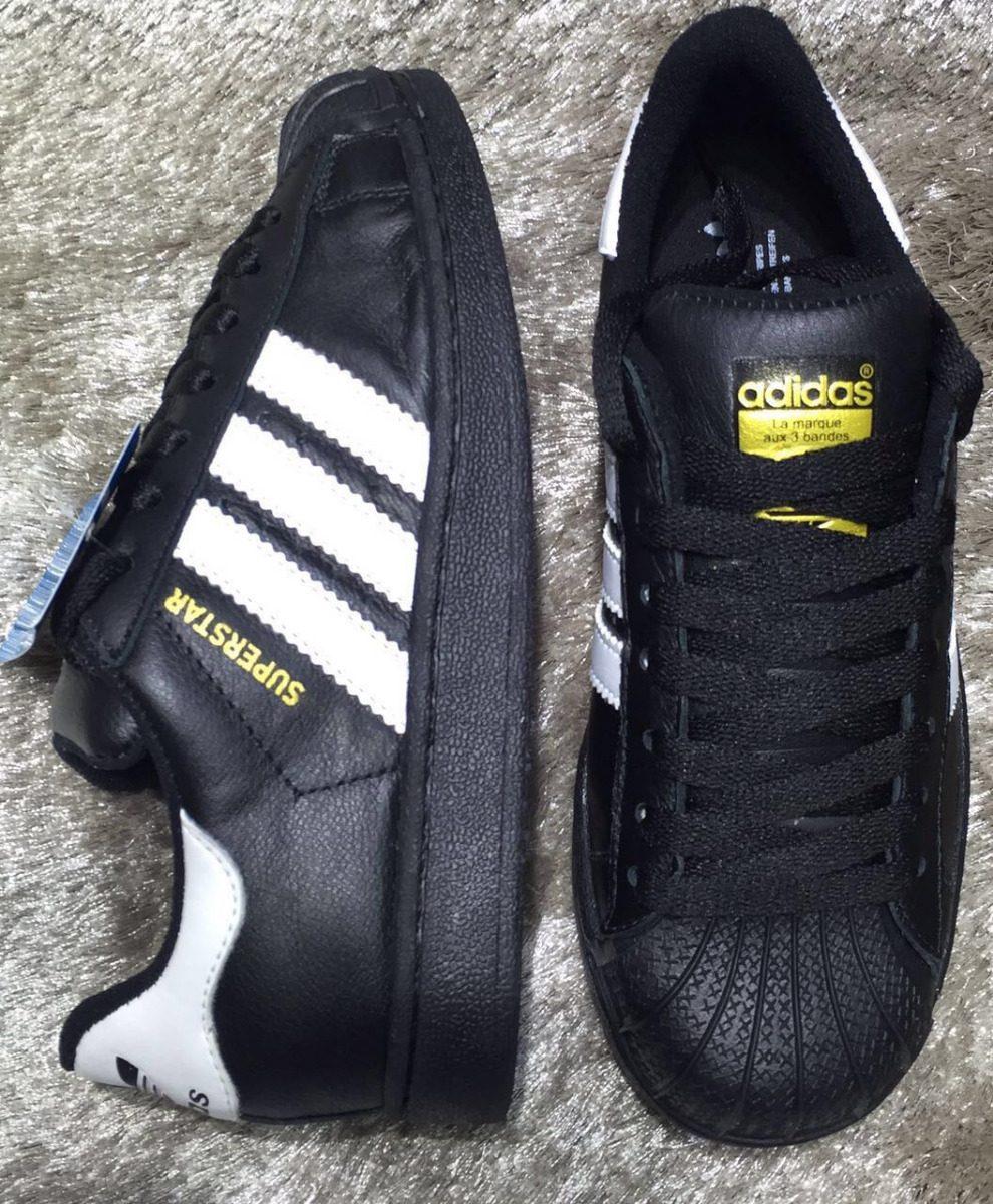 e7227019cea tênis adidas superstar branco e dourado original !! Carregando zoom.