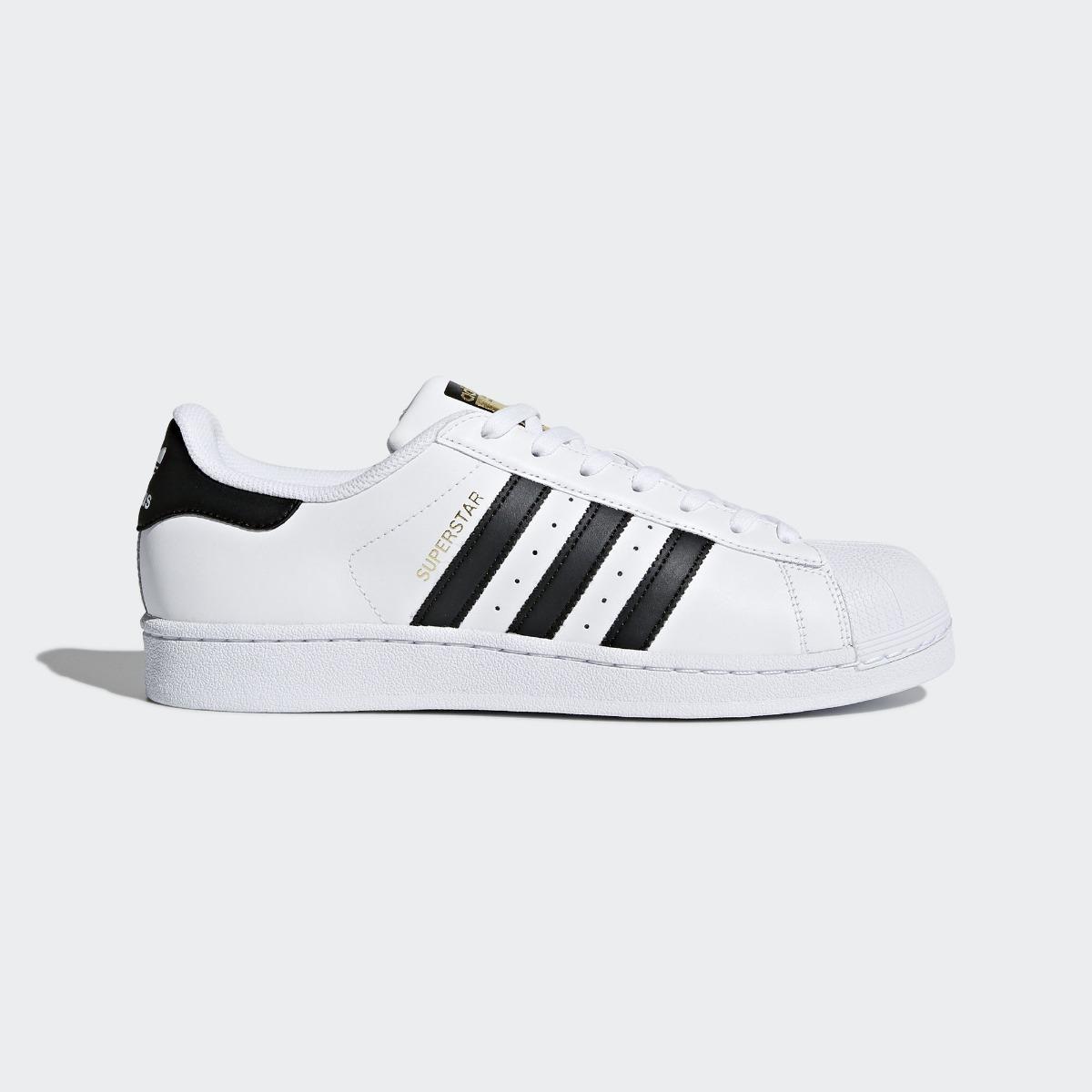 5ab39a1c9283a tênis adidas superstar branco e preto 100% original. Carregando zoom.