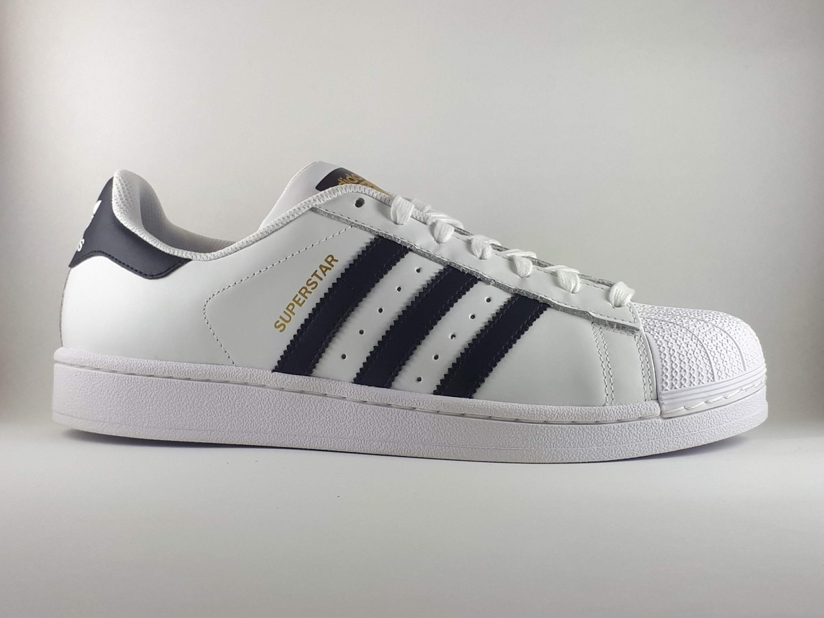 Tênis adidas Superstar Branco E Preto Masculino