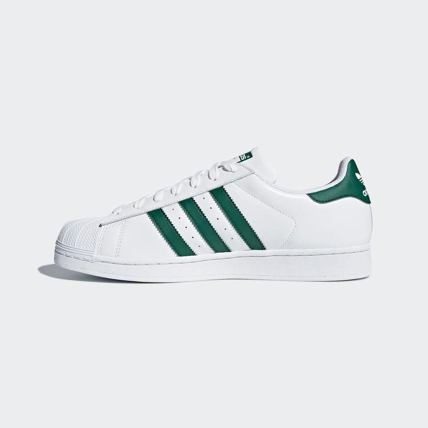 innovative design 08fbf e7689 ... italy tênis adidas superstar branco e verde original footlet.  carregando zoom. 44652 38117