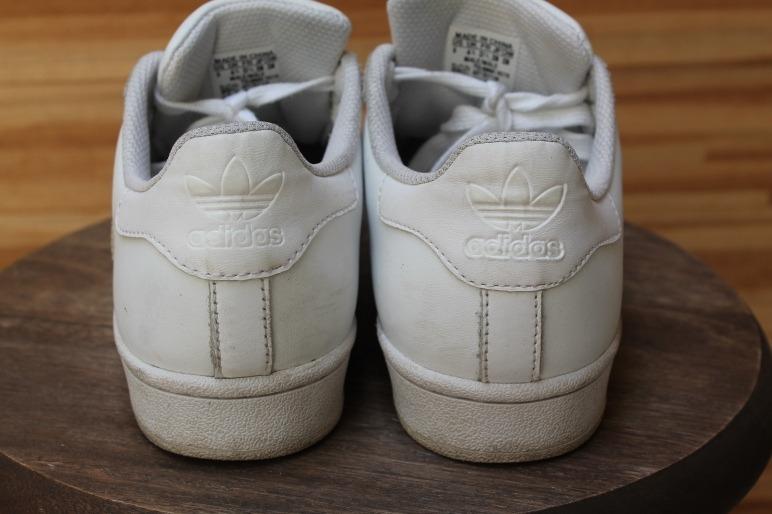 Tênis adidas Superstar Branco Tamanho 36 Usado Original - R  220 4a77e082fd17e