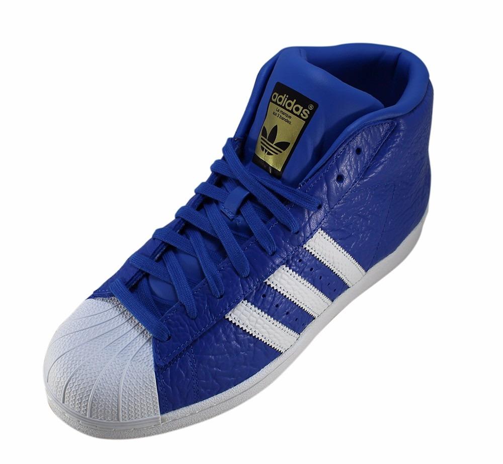 fbc28ff97ad tênis adidas superstar cano alto basquete original azul novo. Carregando  zoom.