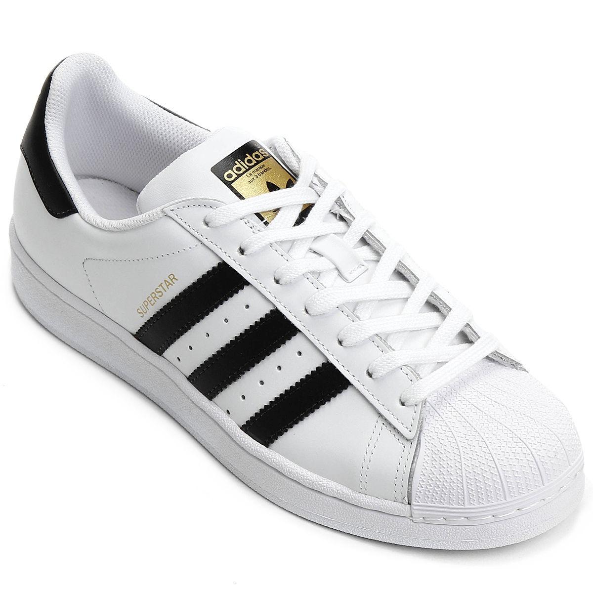 60cf8787dd5 tênis adidas superstar casual feminino original. Carregando zoom.