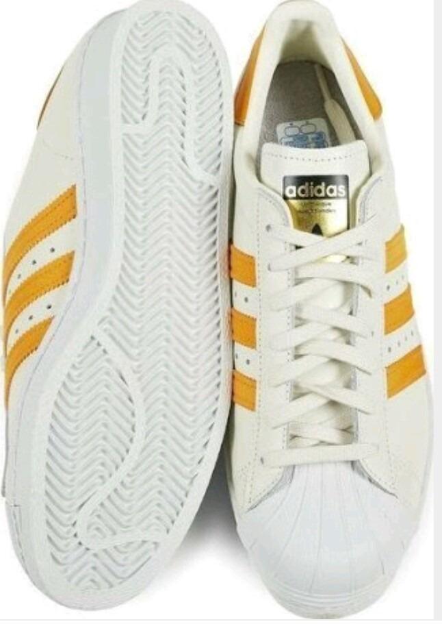 6274bb760 tênis adidas superstar couro - tamanho 40.5 (original). Carregando zoom.