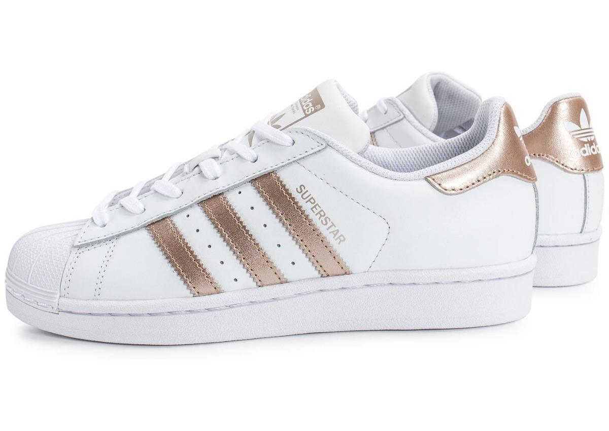 4dadcd5687 Tênis adidas Superstar Dourado 100% Original Frete Grátis!! - R  200 ...