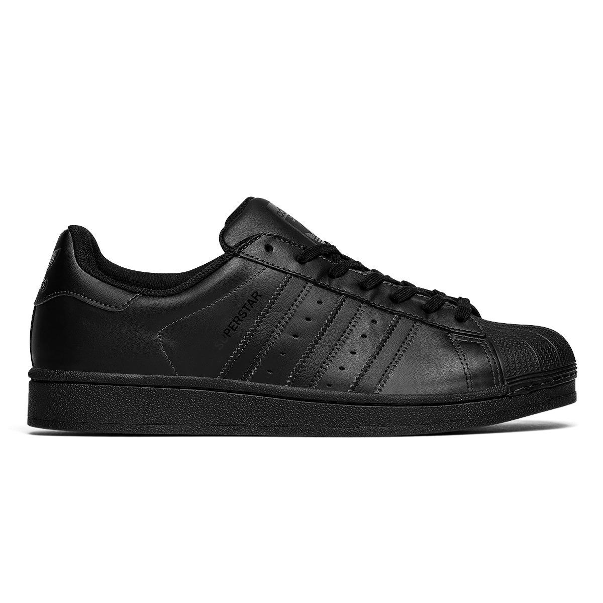 0938e3d4ef8 tênis adidas superstar foundation blac black 9630 original. Carregando zoom.
